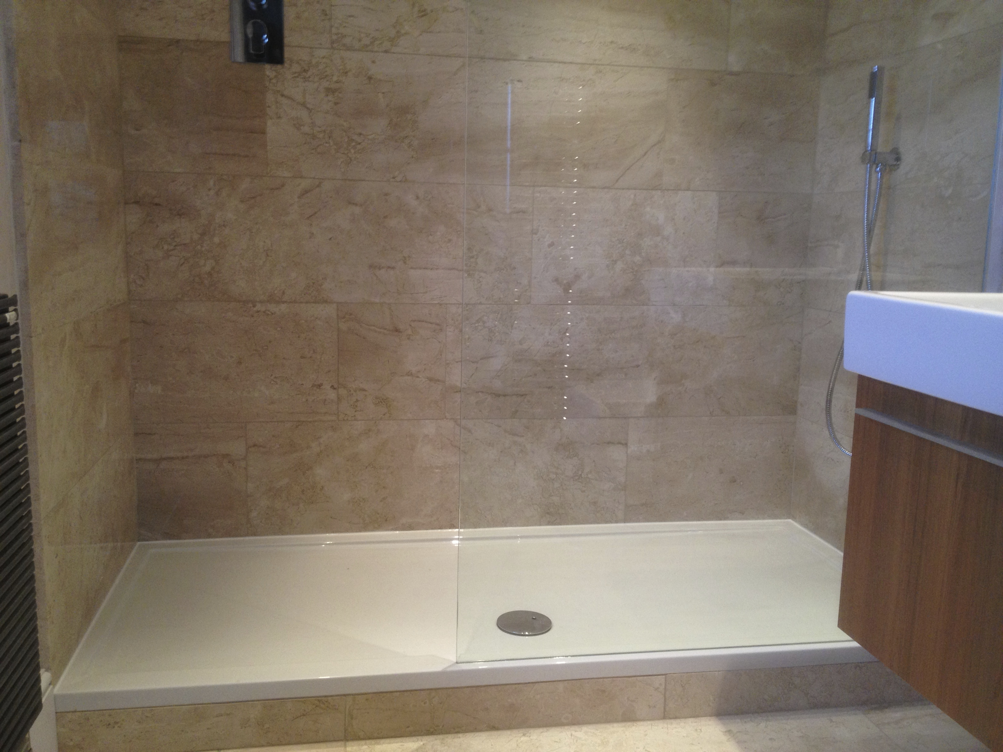 Malton Plumber Installs Walk In Shower Ensuite Paul