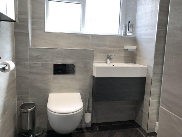 Shower room installation in Norton, Malton, North Yorkshire.